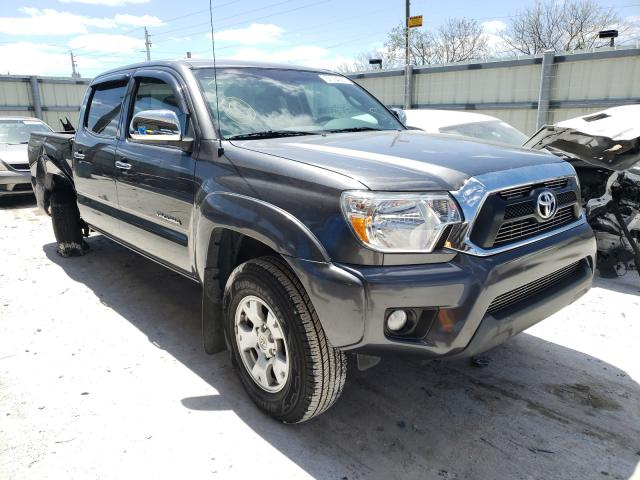 Salvage cars for sale from Copart Homestead, FL: 2014 Toyota Tacoma DOU