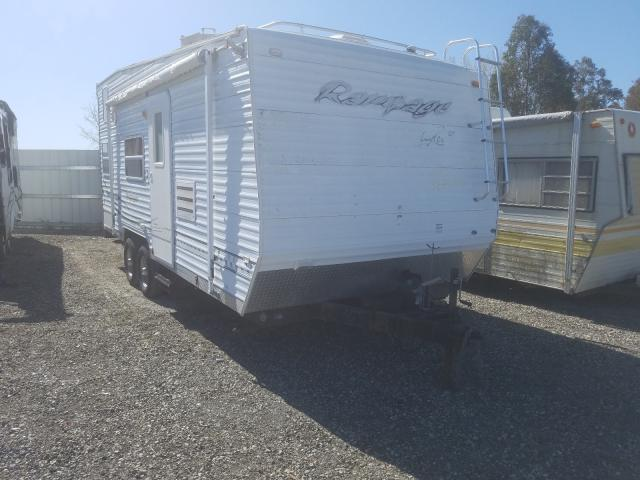 Salvage cars for sale from Copart Vallejo, CA: 2004 Layton Trailer