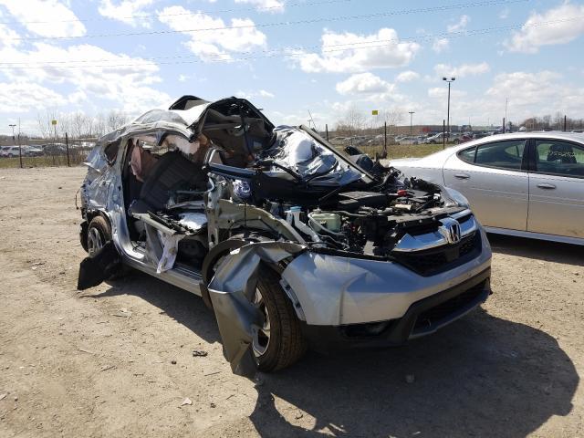 Vehiculos salvage en venta de Copart Indianapolis, IN: 2017 Honda CR-V EXL