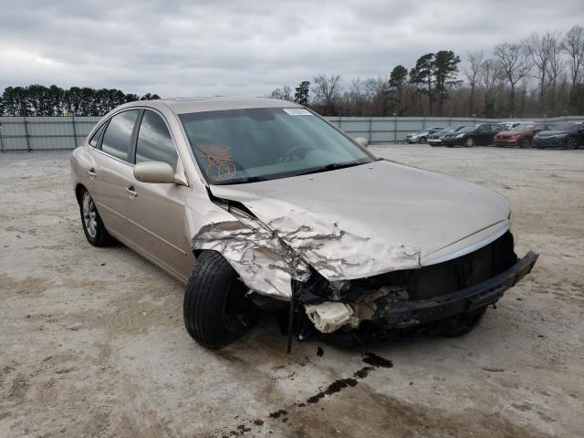 Hyundai salvage cars for sale: 2007 Hyundai Azera