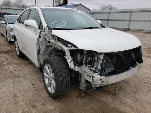 Salvage cars for sale from Copart Wichita, KS: 2010 Lexus RX 350