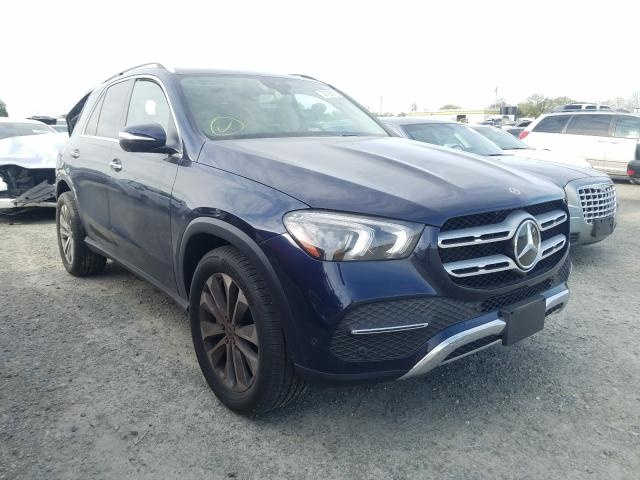 Mercedes-Benz salvage cars for sale: 2020 Mercedes-Benz GLE 350 4M