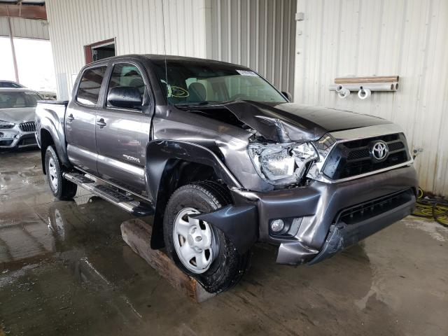 Salvage cars for sale from Copart Homestead, FL: 2015 Toyota Tacoma DOU