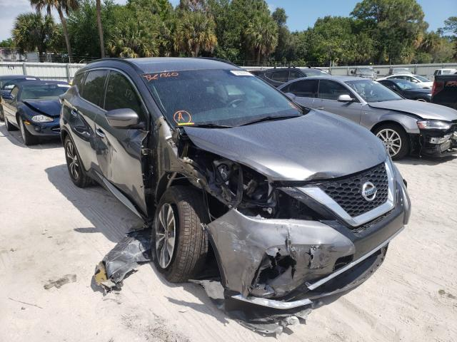 Nissan Murano salvage cars for sale: 2020 Nissan Murano