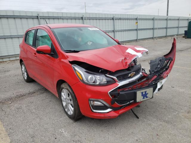 Salvage cars for sale from Copart Lexington, KY: 2021 Chevrolet Spark 1LT