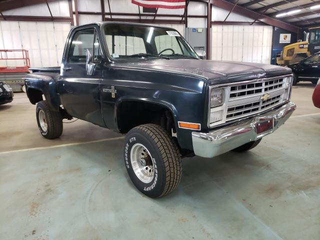 Salvage cars for sale from Copart East Granby, CT: 1987 Chevrolet V10