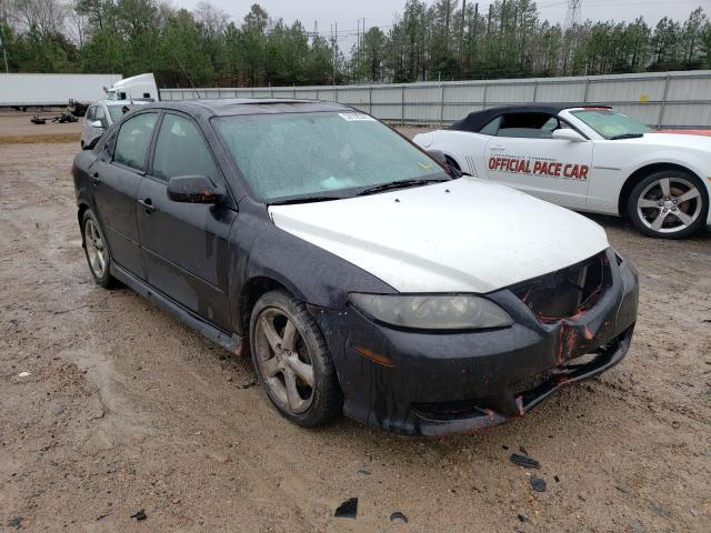 Salvage cars for sale from Copart Charles City, VA: 2005 Mazda 6 S