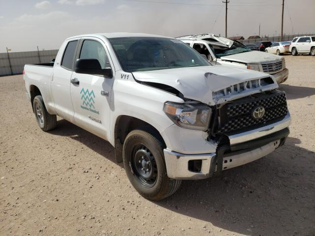 Salvage cars for sale from Copart Andrews, TX: 2020 Toyota Tundra DOU