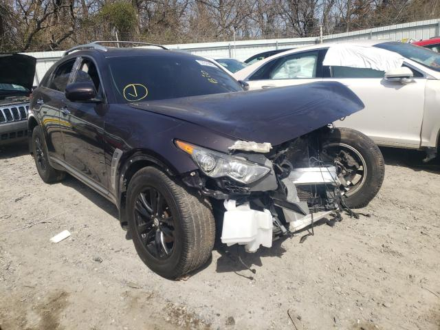 Infiniti FX35 salvage cars for sale: 2010 Infiniti FX35
