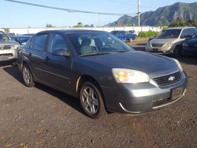 Salvage cars for sale from Copart Kapolei, HI: 2006 Chevrolet Malibu LT