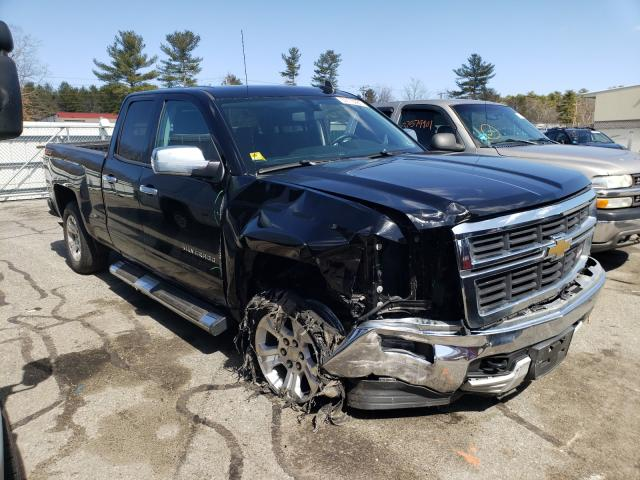 Salvage cars for sale from Copart Exeter, RI: 2015 Chevrolet Silverado