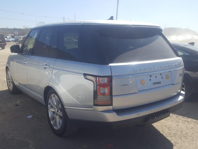 2015 Land Rover RANGE | Vin: SALGS2VF8FA232181
