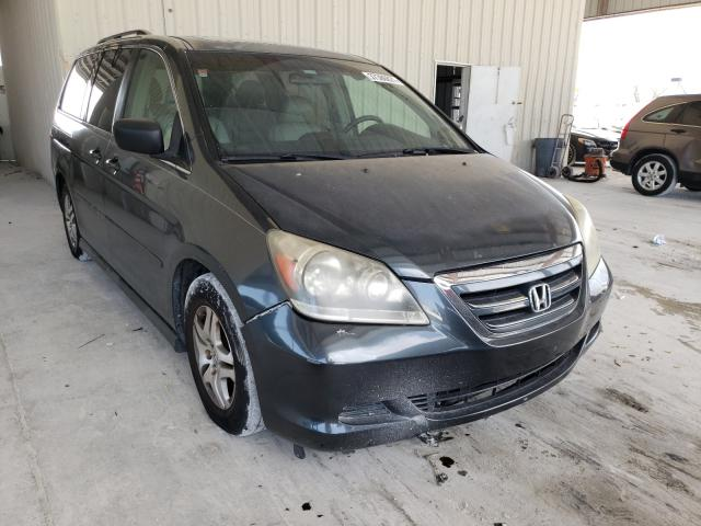 Salvage cars for sale from Copart Homestead, FL: 2006 Honda Odyssey EX