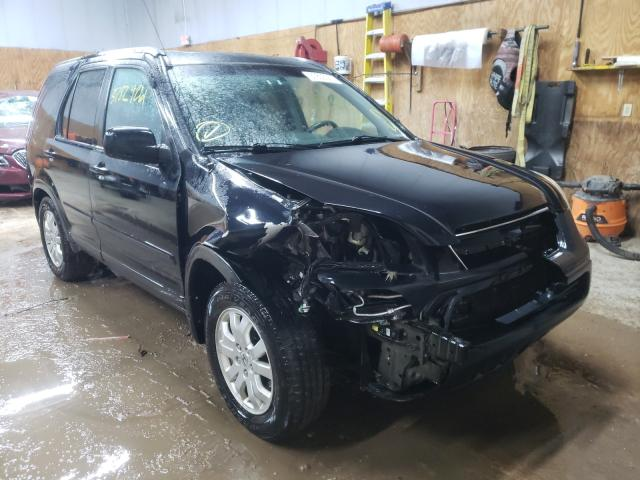 Salvage cars for sale from Copart Kincheloe, MI: 2006 Honda CR-V EX