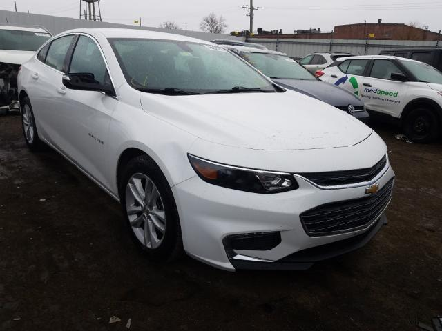 Vehiculos salvage en venta de Copart Chicago Heights, IL: 2018 Chevrolet Malibu LT