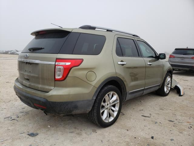 2012 FORD EXPLORER X - Right Rear View