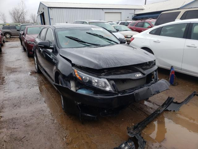 Salvage cars for sale from Copart Pekin, IL: 2015 KIA Optima LX