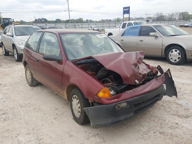 Salvage cars for sale from Copart Newton, AL: 1994 GEO Metro