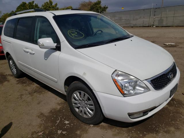 KIA salvage cars for sale: 2014 KIA Sedona LX
