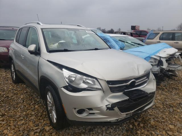 Salvage cars for sale from Copart Sikeston, MO: 2010 Volkswagen Tiguan S