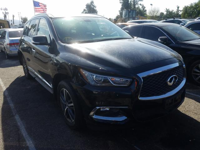 Infiniti salvage cars for sale: 2018 Infiniti QX60