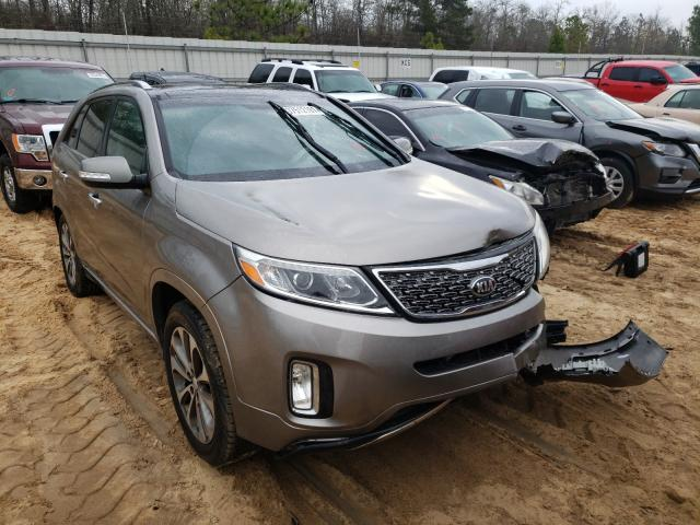 KIA Sorento SX salvage cars for sale: 2015 KIA Sorento SX