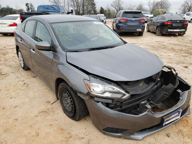 Salvage cars for sale from Copart China Grove, NC: 2017 Nissan Sentra S