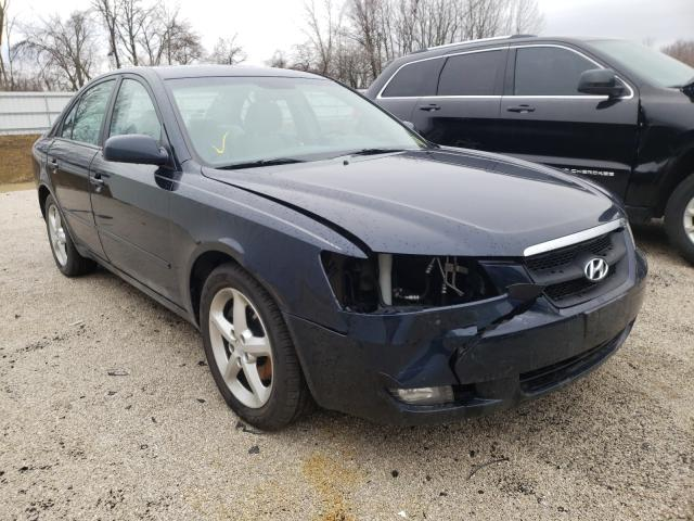 Salvage cars for sale from Copart Milwaukee, WI: 2007 Hyundai Sonata SE