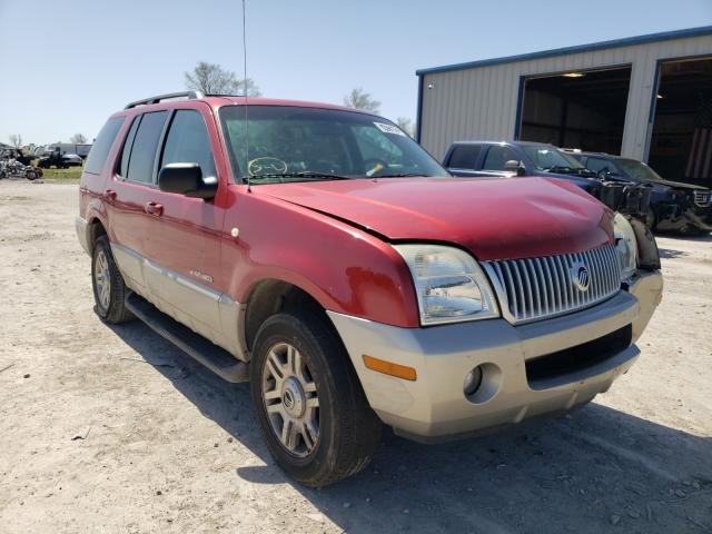 Mercury salvage cars for sale: 2002 Mercury Mountainee