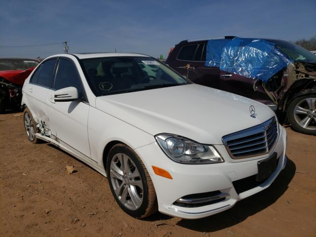 Salvage cars for sale from Copart Hillsborough, NJ: 2013 Mercedes-Benz C 300 4matic