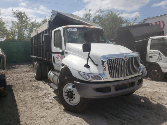 Salvage cars for sale from Copart West Palm Beach, FL: 2020 International MV607