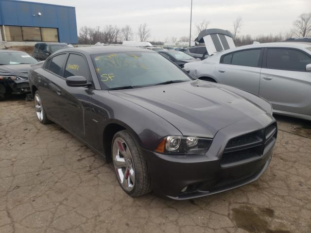 Salvage cars for sale from Copart Woodhaven, MI: 2013 Dodge Charger R