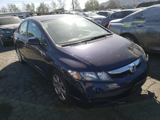 Salvage cars for sale from Copart Colton, CA: 2009 Honda Civic LX