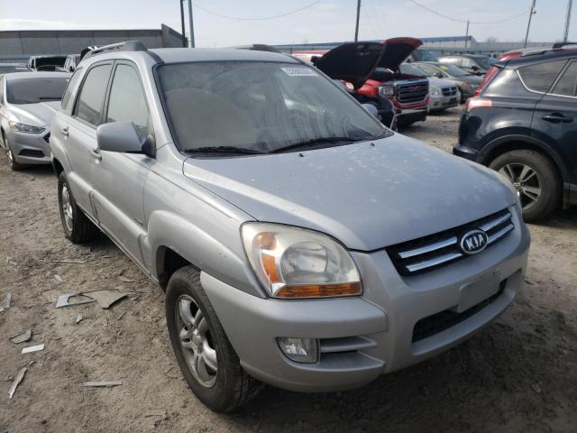 KIA salvage cars for sale: 2005 KIA New Sporta