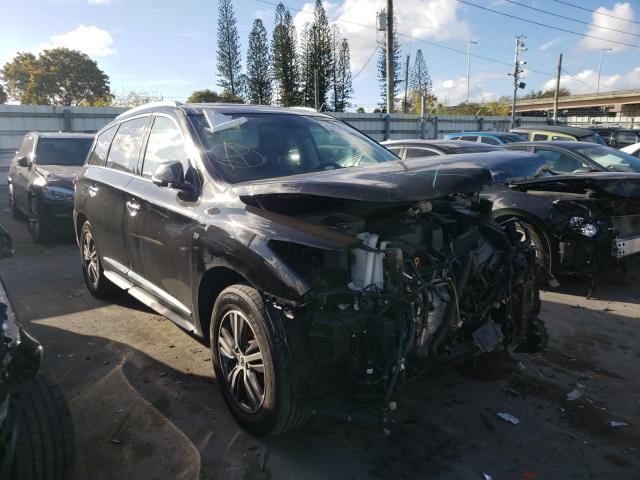 Infiniti salvage cars for sale: 2017 Infiniti QX60