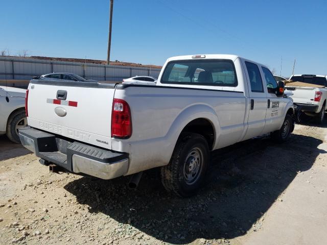 2015 FORD F250 SUPER - Right Rear View