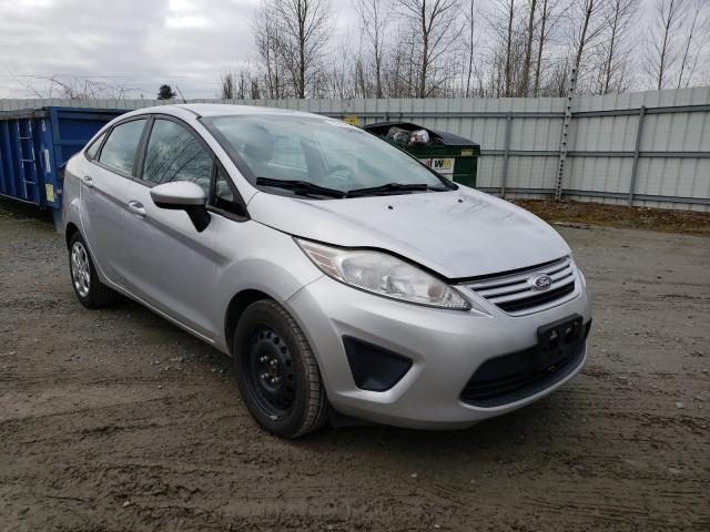 Salvage cars for sale from Copart Arlington, WA: 2013 Ford Fiesta S