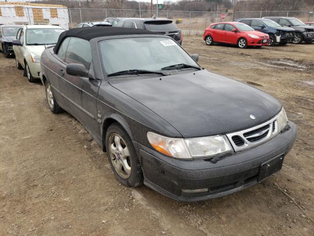 Salvage cars for sale from Copart Madison, WI: 2001 Saab 9-3 SE