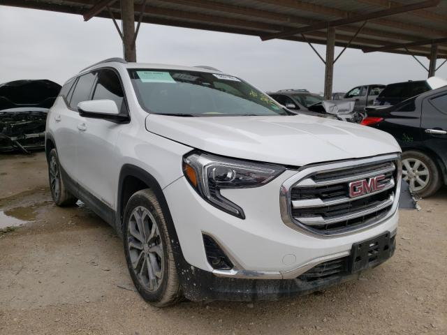 Salvage cars for sale from Copart Temple, TX: 2020 GMC Terrain SL