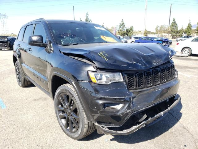 Salvage cars for sale from Copart Rancho Cucamonga, CA: 2017 Jeep Grand Cherokee