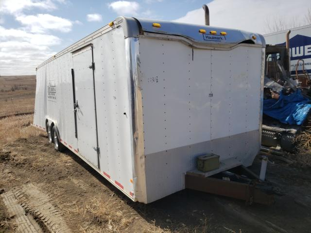 Salvage trucks for sale at Billings, MT auction: 2007 Haulmark Enclosed
