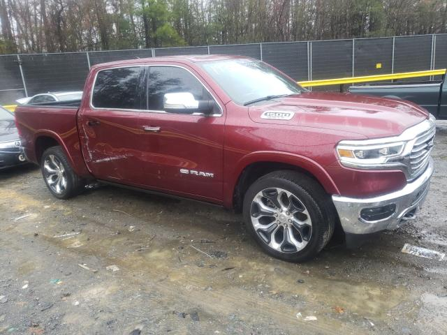 Salvage cars for sale from Copart Waldorf, MD: 2019 Dodge RAM 1500 Longh