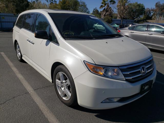 Salvage cars for sale from Copart Martinez, CA: 2012 Honda Odyssey TO
