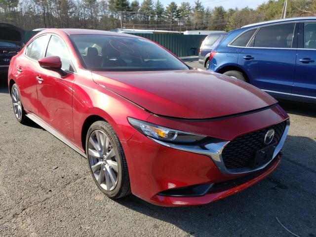 Salvage cars for sale from Copart Exeter, RI: 2020 Mazda 3 Preferre