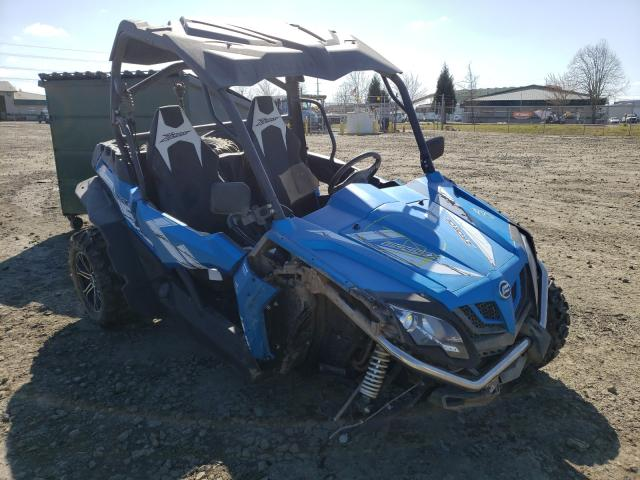 Salvage cars for sale from Copart Eugene, OR: 2019 Can-Am Zforce 800