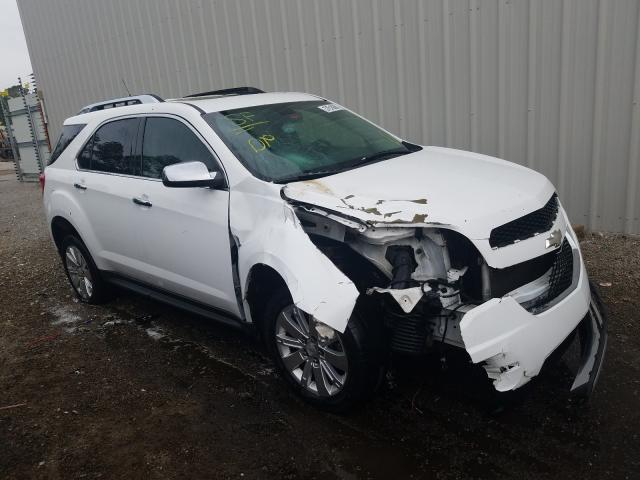 Chevrolet salvage cars for sale: 2010 Chevrolet Equinox LT