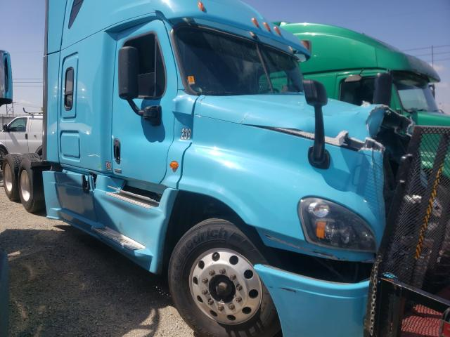 Salvage cars for sale from Copart Rancho Cucamonga, CA: 2016 Freightliner Cascadia 1
