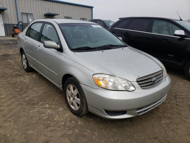 Salvage cars for sale from Copart Chambersburg, PA: 2004 Toyota Corolla CE