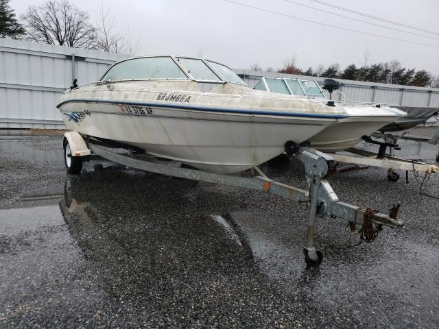 Salvage cars for sale from Copart Fredericksburg, VA: 1996 Sea Ray Boat