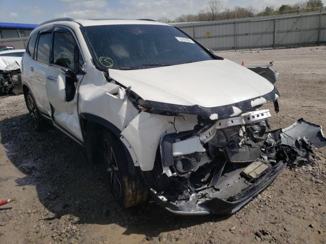 Salvage cars for sale from Copart Hueytown, AL: 2019 Honda Pilot Touring